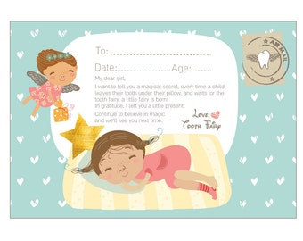 tooth fairy letter tooth letter etsy 13835 | il 340x270.935143359 m1ta