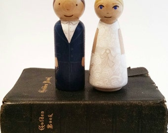 Custom First Communion Peg Doll// First Communion Gift// Custom Peg Doll