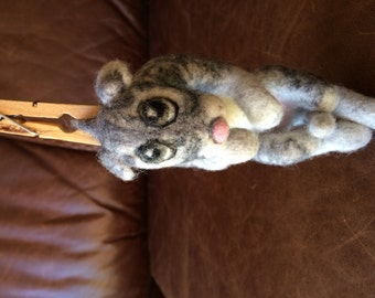 "Felted toy ""Cat"""
