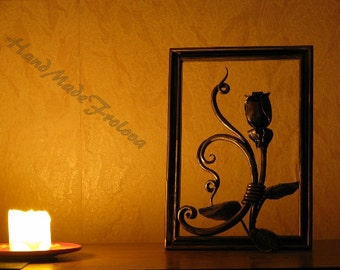 Metal Art, Exclusive , forged paintings, high quality, interior design, forging, panels, fence, leaves,roses, paintings,flower,panel