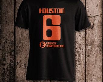 Equipo de Houston Rollerball | Camiseta de los hombres | Inspirado en Rollerball