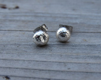 Recycled Silver Studs