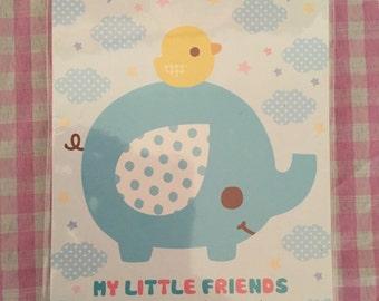 My Little Friends Kawaii Memo Pad- 4 designs
