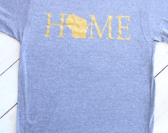 "Personalized State ""Home"" T-Shirt"