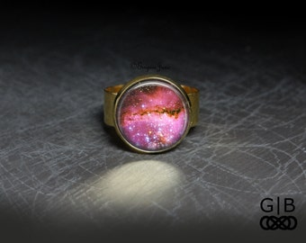 Pink Star Ring Cute pink Adjustable Ring - Pink Star Rings Jewelry Pink Star Jewelry - Cute Star Ring Cute Star Jewelry - Pink Stars Ring