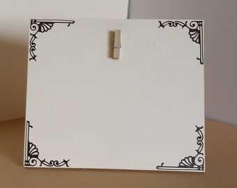 Small picture frame, Cream Picture Frame, picture frame, 4 x 6 picture frame, custom picture frame, wood picture frame, photo holder