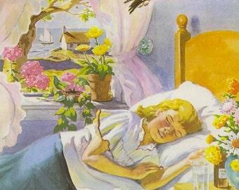 Vintage Children's Book Image (1964): Story Illustration. By Manning de V. Lee.