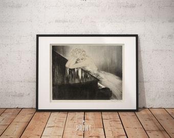 Louis Icart - Waltz Dream, Art deco Wall Art, Framed print, PP042