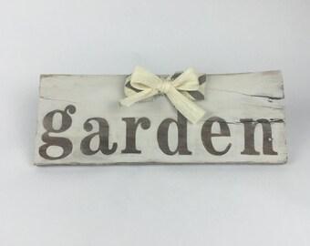 Wooden Sign For Home - Garden