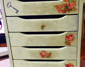 Sewing Kit, or chest of drawers or bedside table