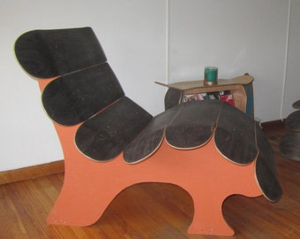 GT1 Skateboard Lounge Chair