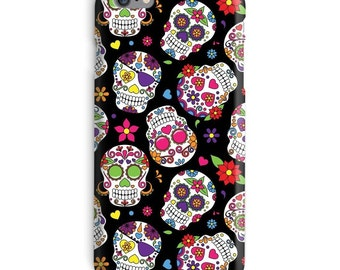 Day of the Dead Sugar Skull iPhone Case, day of dead iphone case, skull iphone 6 case, scarry iphone 6 case, mexican iphone 6s case