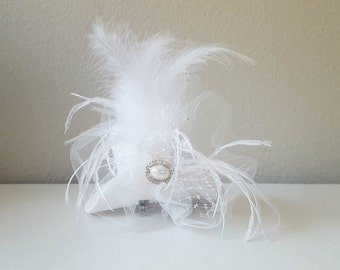 Mini-top hat white color, black color, party hats, special occasion, wedding and bridal accessories,