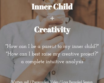 Inner Child + Creativity: An Astrology, Tarot & Oracle Session (sashastrology)