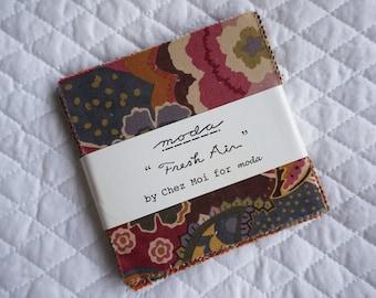 Fresh Air - Charm Pack - 36 pieces - By Chez Moi - Moda Fabric