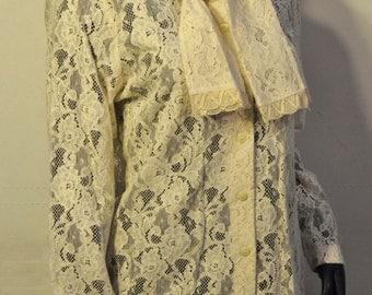 Women's Vintage Lace Blouse