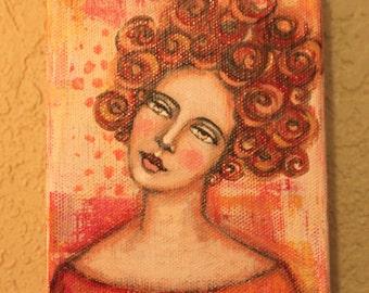 Big Curly Girl #3
