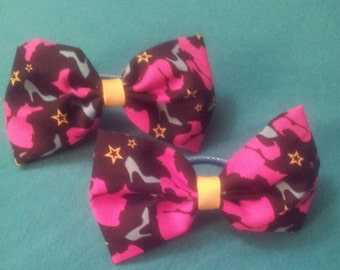Barbie inspired bow