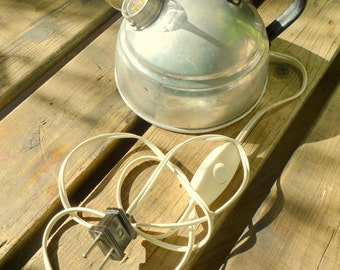 Upcycled Tea kettle Lamp