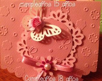 Tarjetas invitación o recuerdo, Bautizo, Cumpleaños y otros eventos
