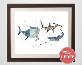 Bruce the shark | Etsy