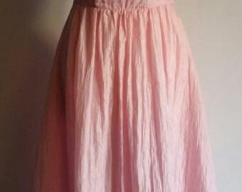 Vestido rosa de los años '80 / 1980s pink dress