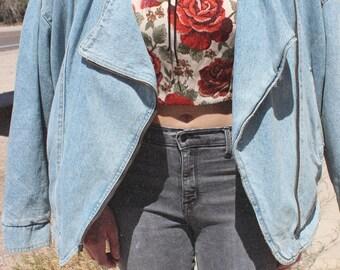 Andy Johns Oversized Jean Jacket