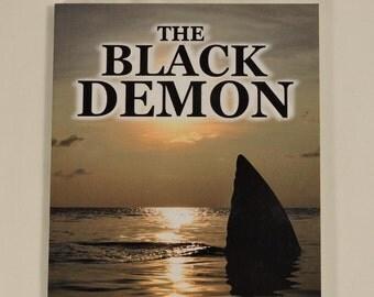 The Black Demon Book Novel Autographed