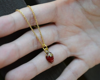 Bitty Berry Necklace