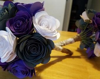Paper Flower Bouquets Wedding