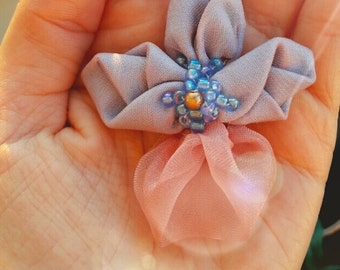 Brooch women, brooch flower, Brooch-orchid
