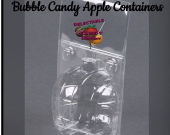 Bubble Candy Apple Containers (48 count)
