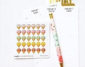 CLOSING SALE 40% OFF - 018 planner stickers : ice cream (kawaii cuteness)