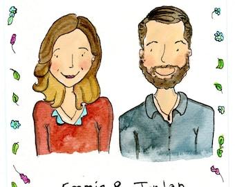 Custom Illustrated Portraits