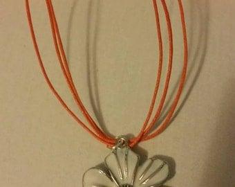 beautiful flower necklace