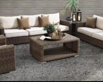 The Hampton Royal Rattan Garden Set
