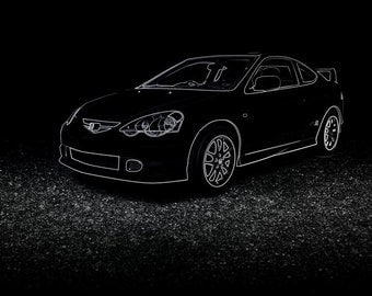 Honda Integra Type R DC5 Poster - 4 sizes