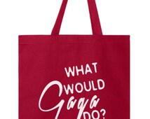 What Would Gaga Do Lady Gaga Tshirt Music Tshirt Music Artist Would would jesus do tshirt Born this way Gay Tote Bag American Horror Stor