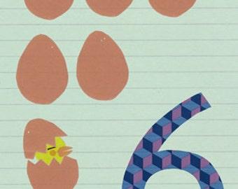Six Eggs Print