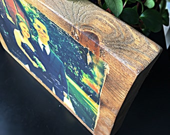 Custom Wood Block - Photo Transfer