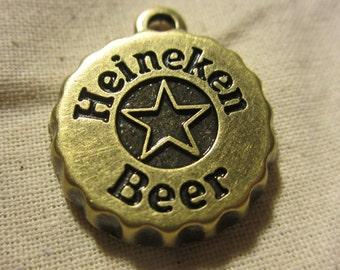Heineken beer cap x5