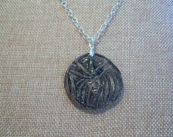 Cullen's Coin Inspired Pendant - Painted