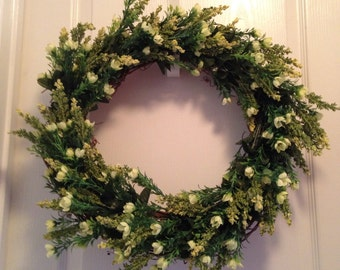 18 inch Greenery Wreath
