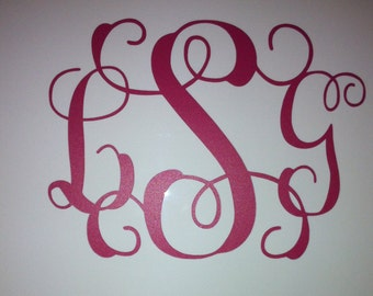 Monogram or Name Decals