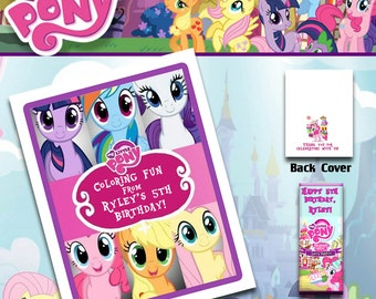 My Little Pony Coloring Book with Crayons