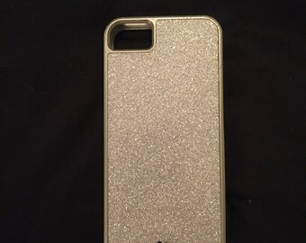 Sparkly Silver iPhone 5 Case