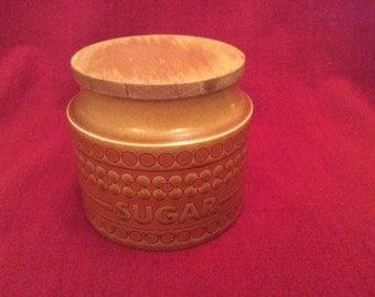 Hornsea Saffron Sugar Storage Jar