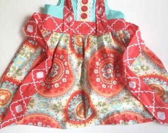 Bright Beats knot dress