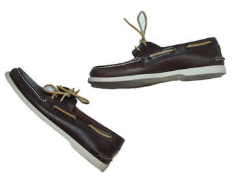 Sperry Top-Sider All-Leather Loafer Mens Sz 9