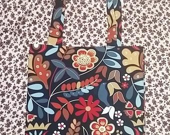 Art Nouveau Style Handmade Tote Bag